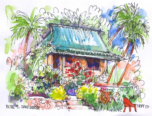 ErinHill Travel Sketching with Erin Hill October 12 – 19, 2019