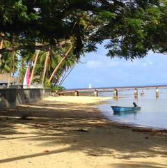 Savusavu Beach.