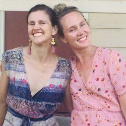 Liz and Amanda